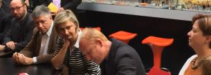 Ondertekening engagementsverklaring met minisiter Crevits en minister Vandeurzen