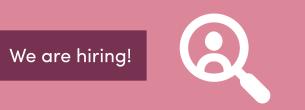 Fevia is hiring!