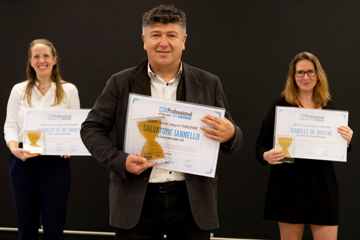 Salvatore Iannello, CSR Professional of The Year