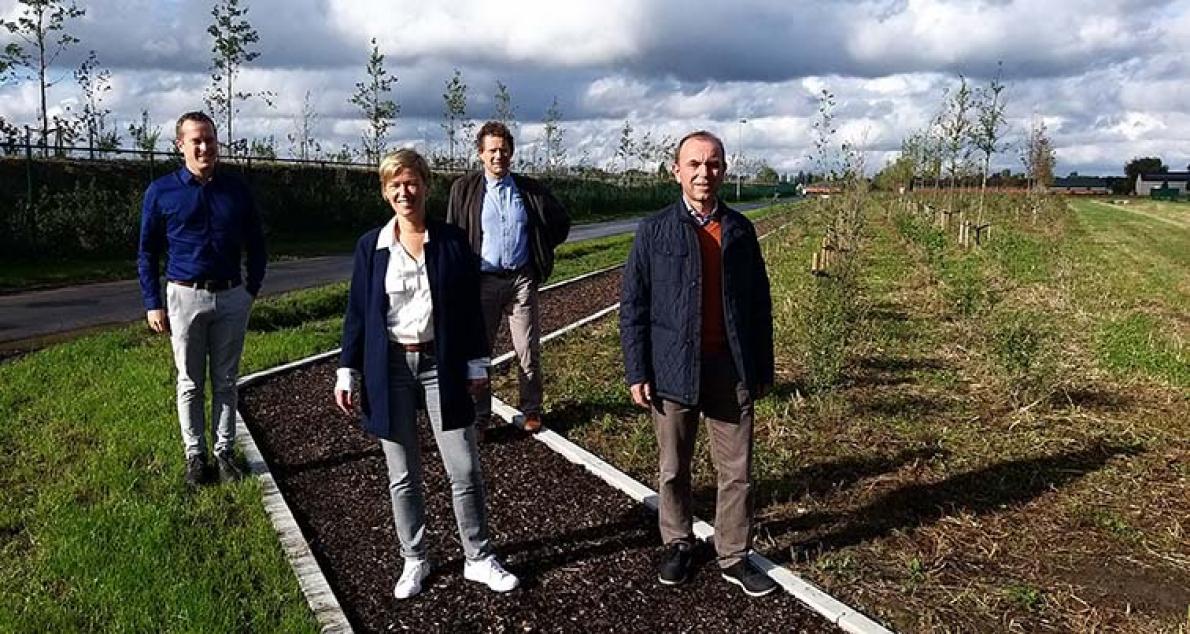 Werknemers van Agristo on track met Finse looppiste