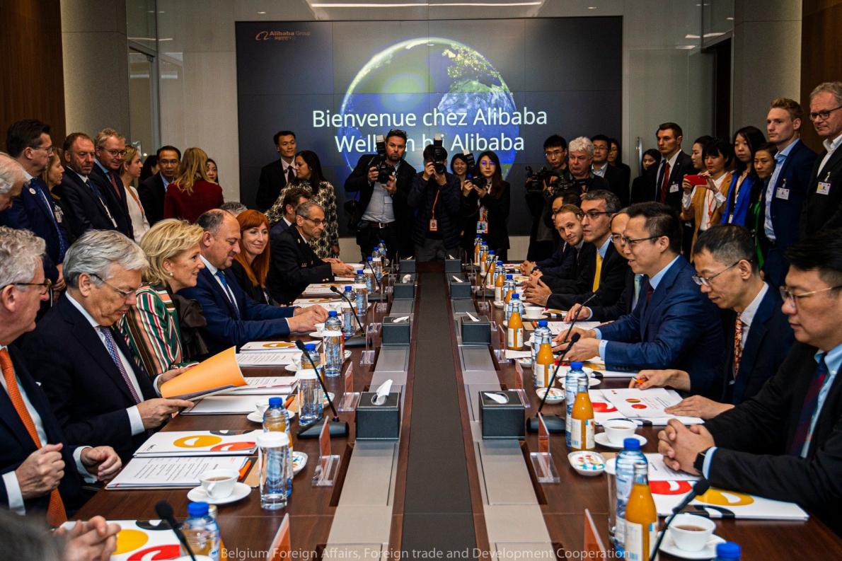 Handelsmissie China-Federatie Belgische Voedingsindustrie