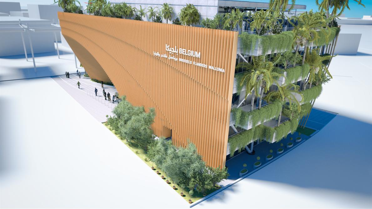 Belgisch Paviljoen op Wereldexpo Dubai 2020