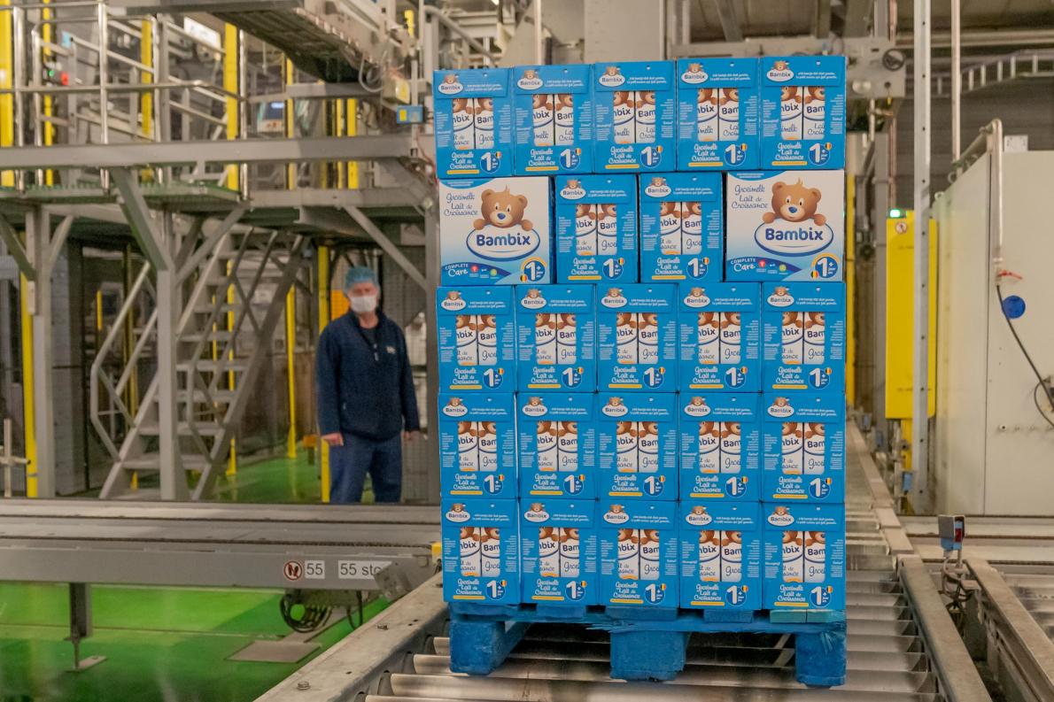 Groeimelk Bambix van Inex zet eerste stapjes op Chinese markt