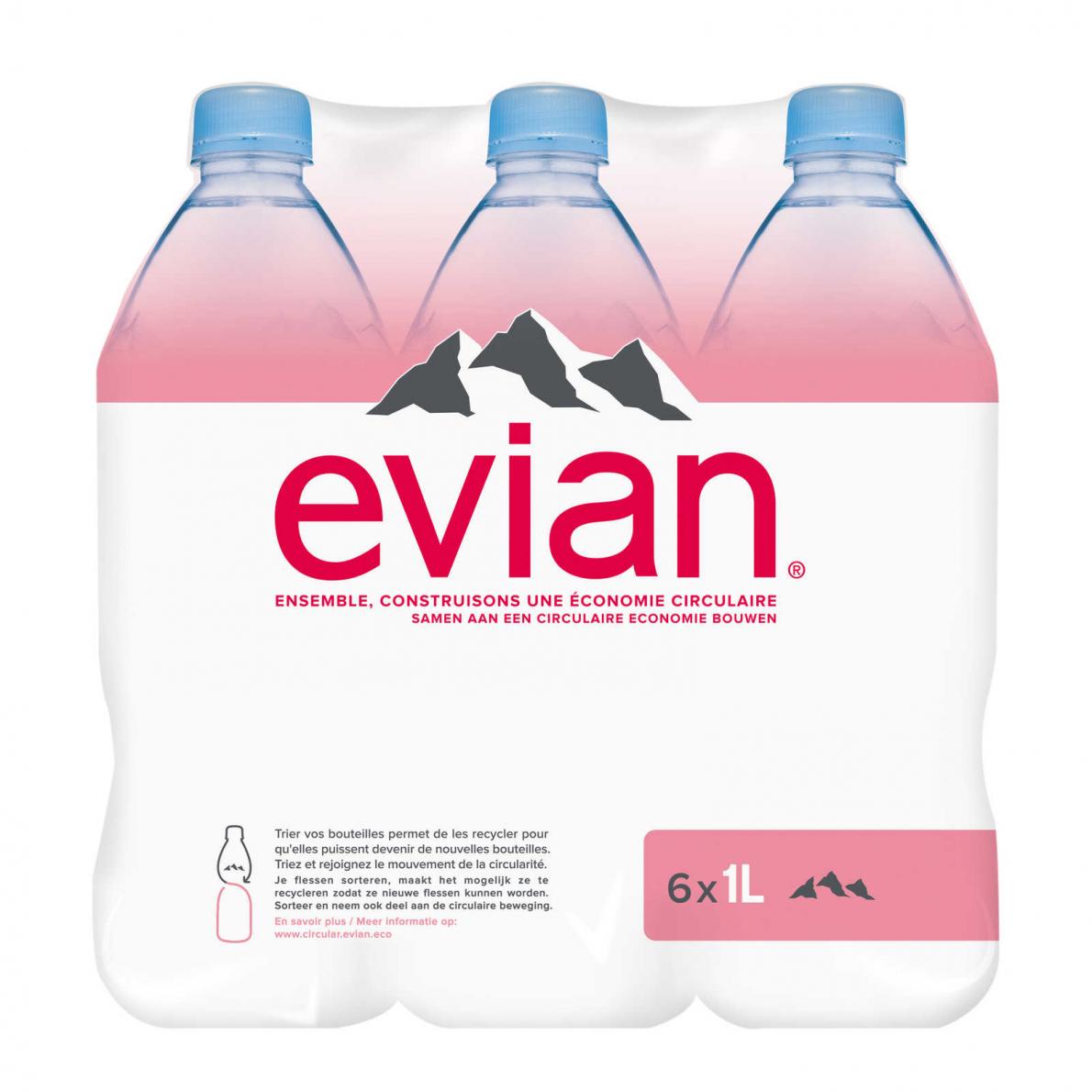 Calendrier Evian.Les Bouteilles D Evian Appellent A Participer Au Mouvement
