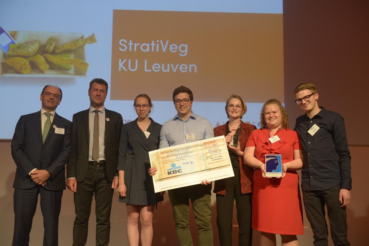 KU Leuven wint de Food At Work Ecotrophelia Awards Belgium 2019