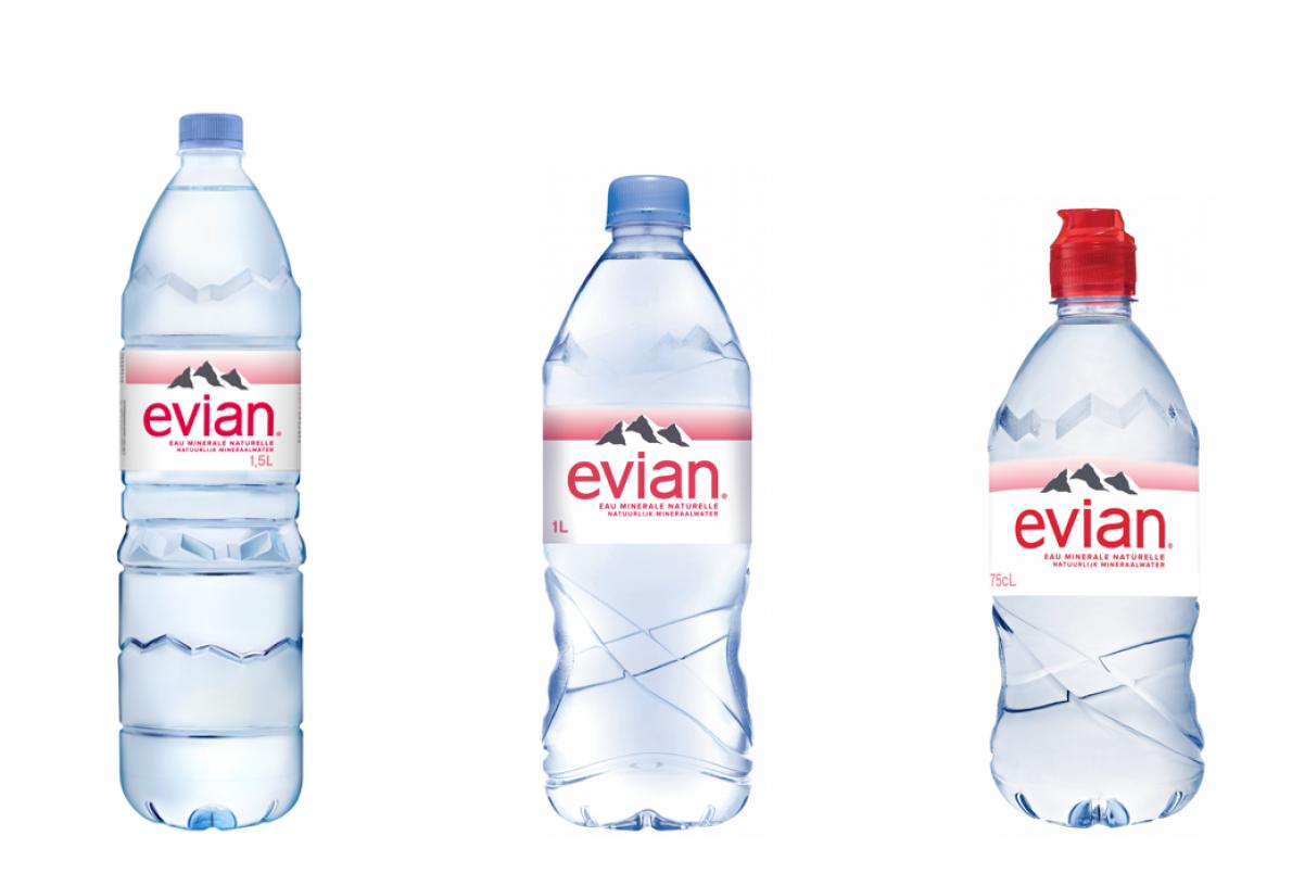 Calendrier Evian.Doublement Du Pourcentage De Pet Recycle Pour Les 3 Formats