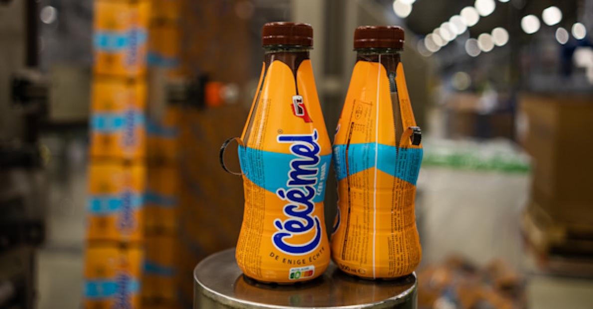 FrieslandCampina is eerste Belgische zuivelspeler met 100% gerecycleerde fles