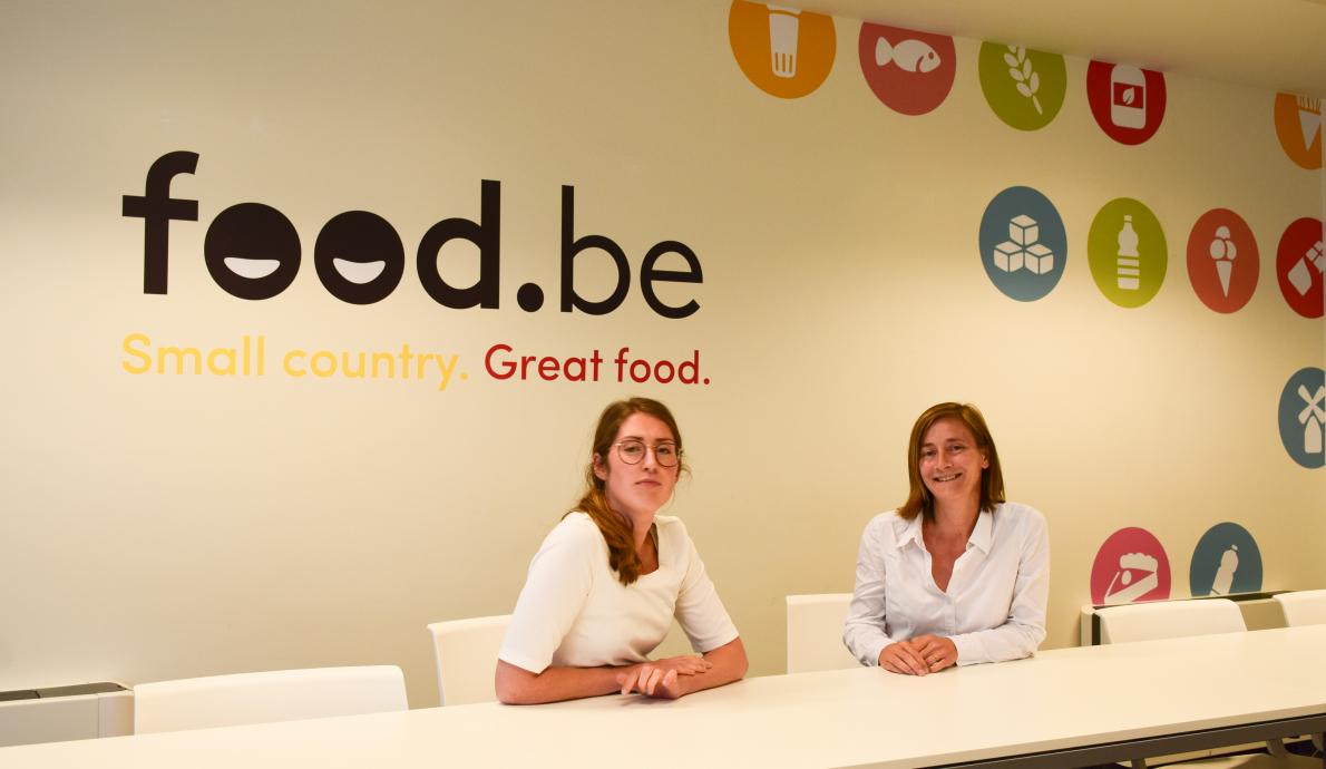 Food Policy and Economisch Advisor Fevia_Imke Van den Broeck en Carole Dembour.jpg