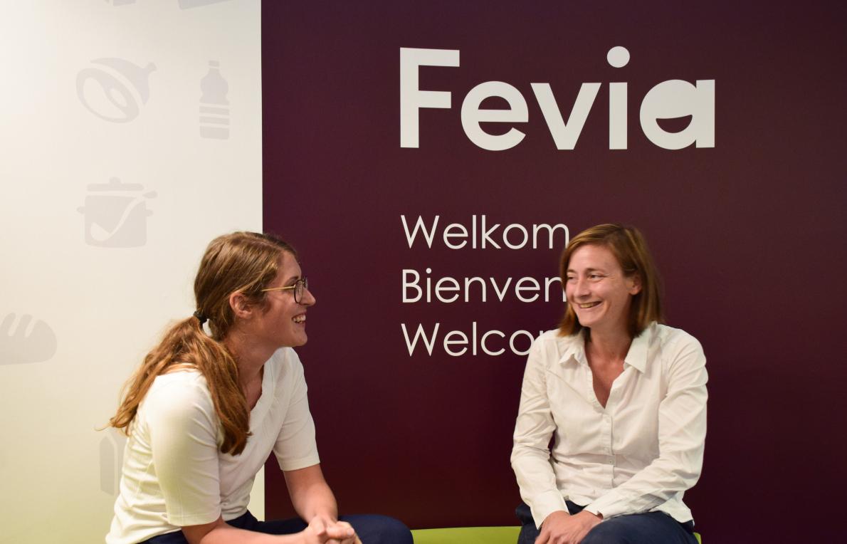 Food Policy and Economisch Advisor Fevia_Imke Van den Broeck en Carole Dembour
