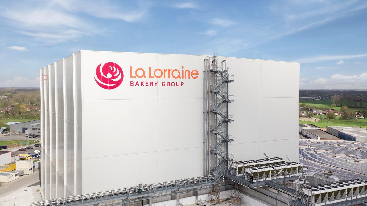La Lorraine investeert in de modernisering van haar fabriek in Erpe-Mere, haar eerste en oudste diepvriesbakkerij