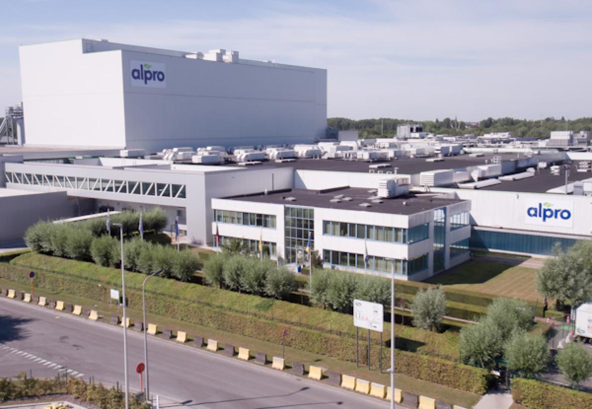 Ook klopte Alpro bij de Watergroep aan om de grootste waterhergebruikinstallatie in Vlaanderen te bouwen op haar productiesite te Wevelgem
